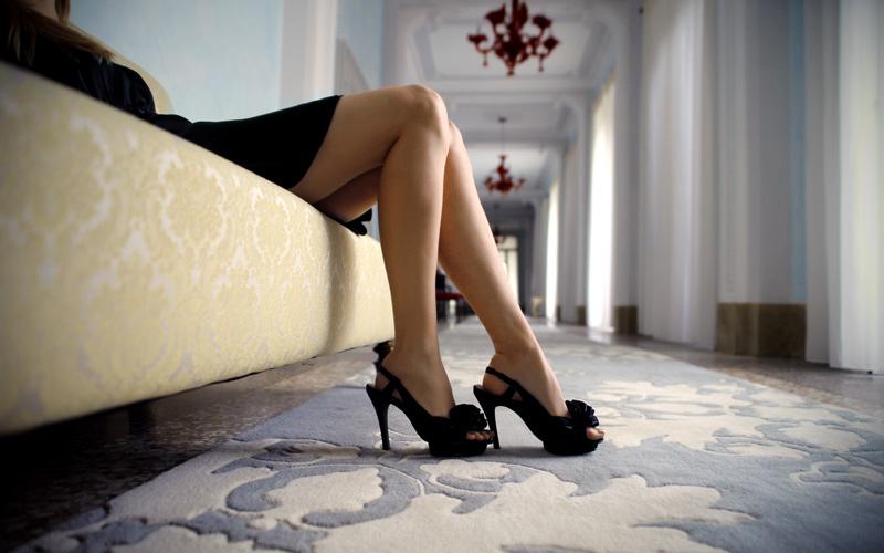 Zdravé nohy v lodičkách