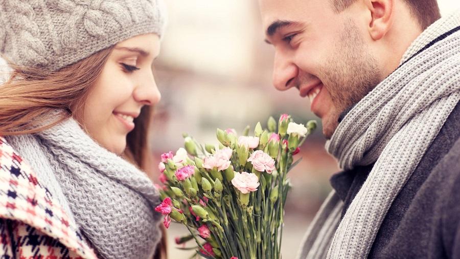 Valentýn a květiny