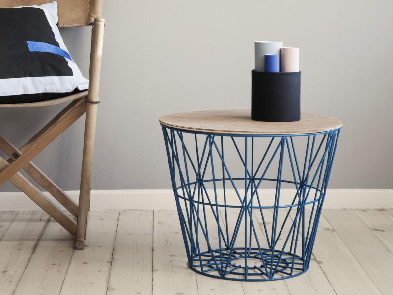 Příruční stolek v severském dizajnu