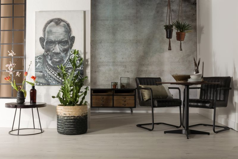 Industriální styl interiér