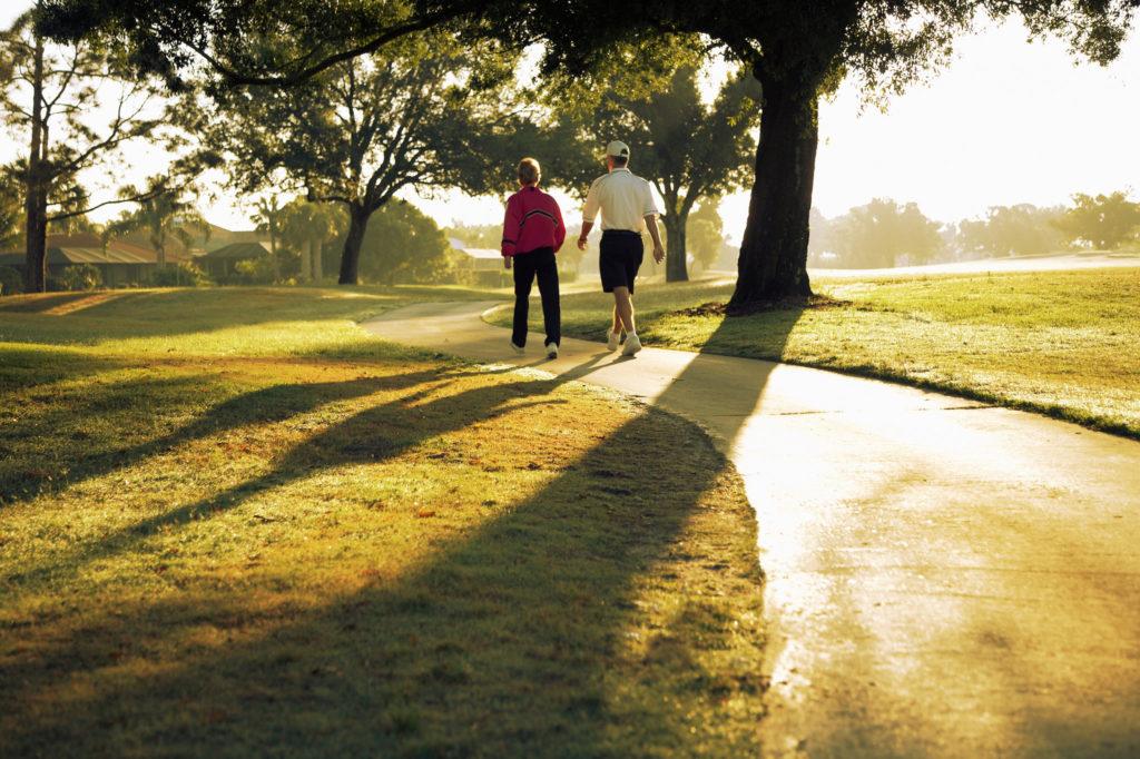 Procházení se je jednoduchý ale efektivní sport