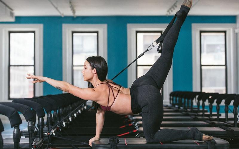 Fitness trénink megaformer