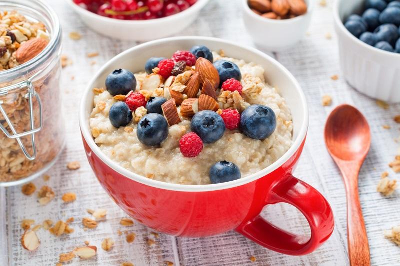 Zdravá snídaně a kaše