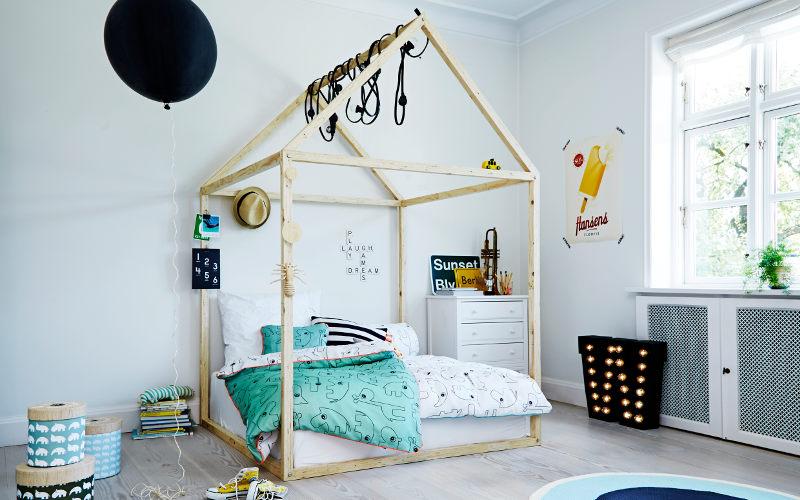 Dětský pokoj s postelí