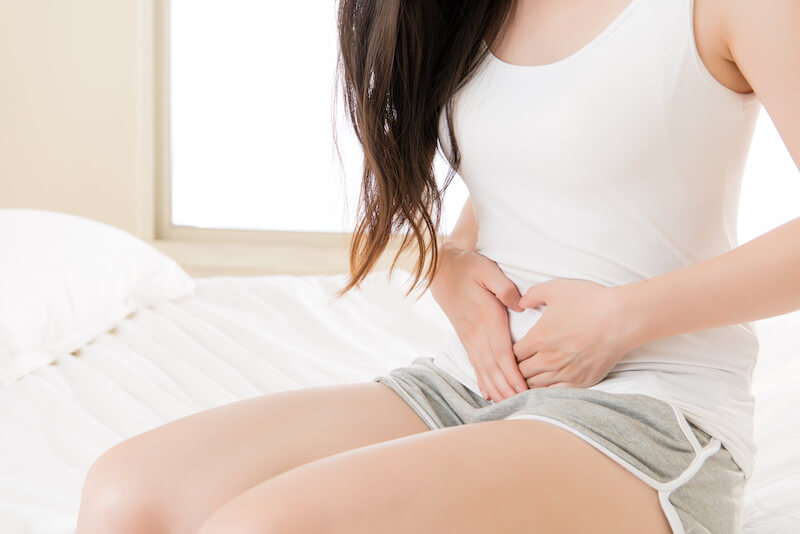 Menstrauce bolest břicha