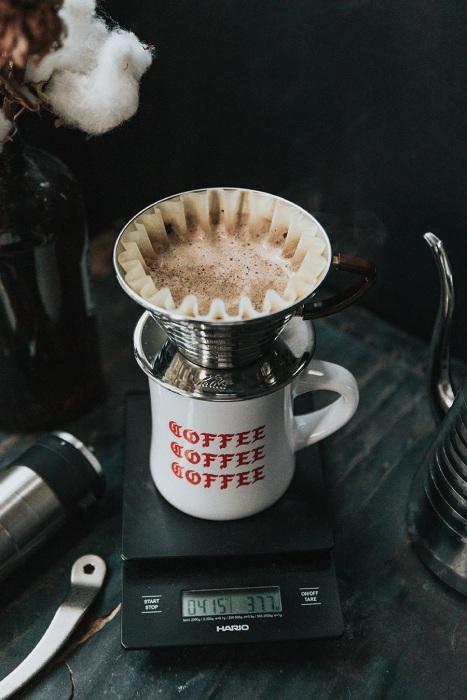 Cvičení a káva