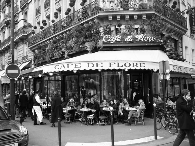 První evropská kavárna Cafe de Flore