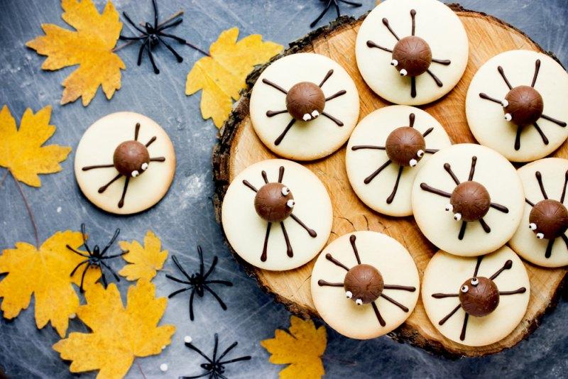 Halloween domácí koláče